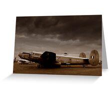 Avro Shackleton Greeting Card