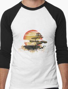 Japan art Men's Baseball ¾ T-Shirt