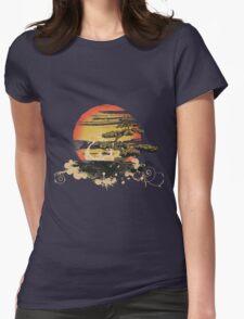 Japan art Womens Fitted T-Shirt