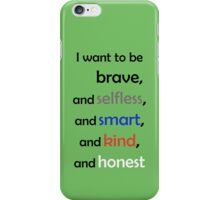 I Want to Be Divergent iPhone Case/Skin