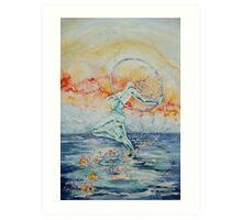 Triumph at Twilight - Exuberance Art Print