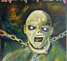 Eddie from Iron Maiden by Ryan Harvey