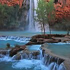 Havasupai Waters by Robert C Richmond