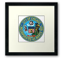 City of Chicago Seal Framed Print