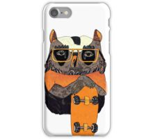 Suzi Owl Skater iPhone Case/Skin