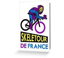 Skeletour De France Greeting Card