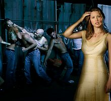 Jessica Biel - Worth Fighting Over. by Nick Koudis