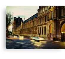 The Louvre Canvas Print