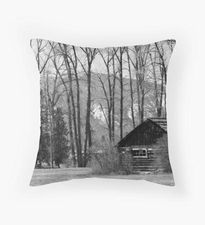 Lister Homestead Throw Pillow
