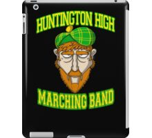 Huntington High Marching Band (Face) iPad Case/Skin