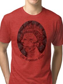 The Reptilian Elite Tri-blend T-Shirt
