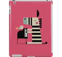 Music Zebra iPad Case/Skin