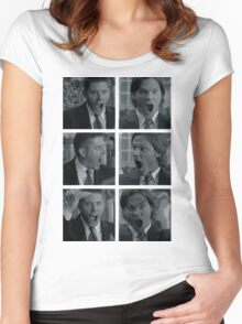 Jared and Jensen Outtake photoset Women's Fitted Scoop T-Shirt