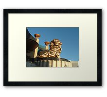 The MGM Lion Framed Print