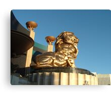 The MGM Lion Canvas Print