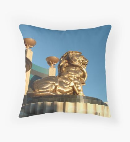 The MGM Lion Throw Pillow