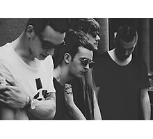 the 1975 (band photo) Photographic Print