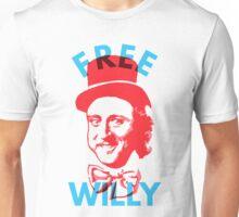 Free Willy (Wonka) Gene Wilder Charlie and The Chocolate Factory Unisex T-Shirt
