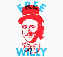 Free Willy (Wonka) Gene Wilder Charlie and The Chocolate Factory Unisex T-Shirt