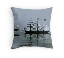 ~ PIRATE'S COVE BY NIGHT ~    Throw Pillow