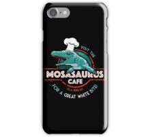 Visit the Mosasaurus Cafe iPhone Case/Skin