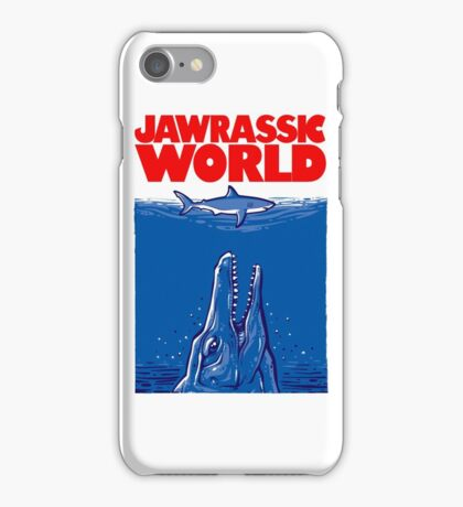 Jawrassic World (variation) iPhone Case/Skin