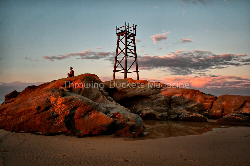 RED ROCK  by Throwing  Buckets Magazine