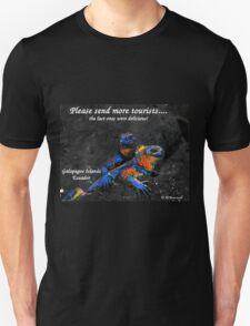 Please Send More Tourists - Marine Iguana T-Shirt