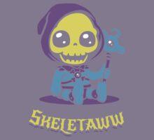 Cute Skeletor - Skeletaww Kids Tee
