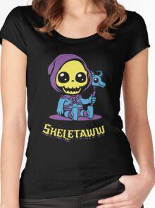 Cute Skeletor - Skeletaww Women's Fitted Scoop T-Shirt