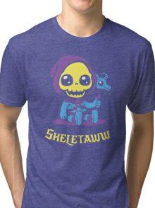 Cute Skeletor - Skeletaww Tri-blend T-Shirt