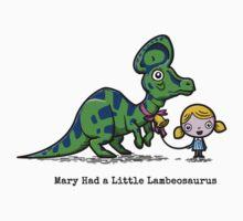 Mary Had A Little Lambeosaurus by Tabner