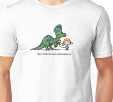 Mary Had A Little Lambeosaurus Unisex T-Shirt