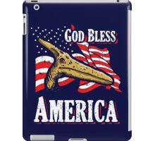 God Bless America Pterodactyl iPad Case/Skin