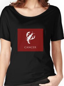 Cancer, Zodiac Women's Relaxed Fit T-Shirt