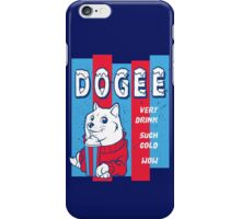 DOGEE - VERY DRINK, SUCH COLD, WOW iPhone Case/Skin