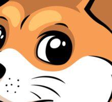 Doge Bless America Sticker