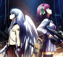 angel beats by PoppySama