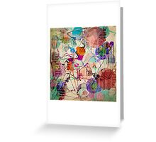 Abstract Expressionism Greeting Card