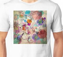 Abstract Expressionism Unisex T-Shirt