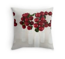 Apples in Jars Throw Pillow