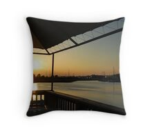 Another Day Ending Throw Pillow