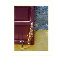 Aegean Colours XII Art Print