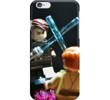 Jedi Duel iPhone Case/Skin