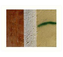 Aegean Colours XVIII Art Print
