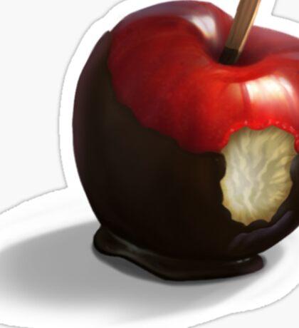 snow white's apple Sticker
