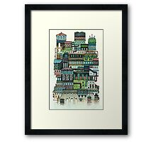 Strange House 2 Framed Print