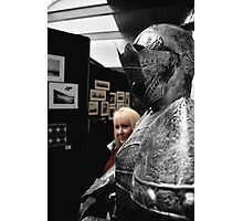 'Just the Other Knight....' Photographic Print
