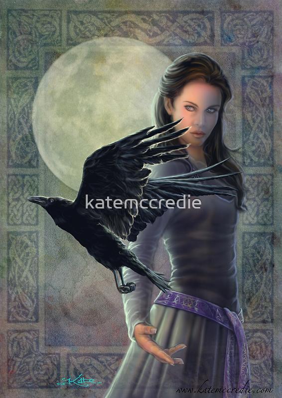 Celtic Raven by katemccredie