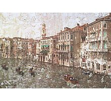Faded Memories-Venice  Photographic Print